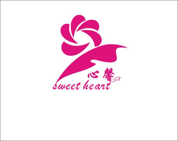 羽毛玫瑰LOGO 海报设计图片