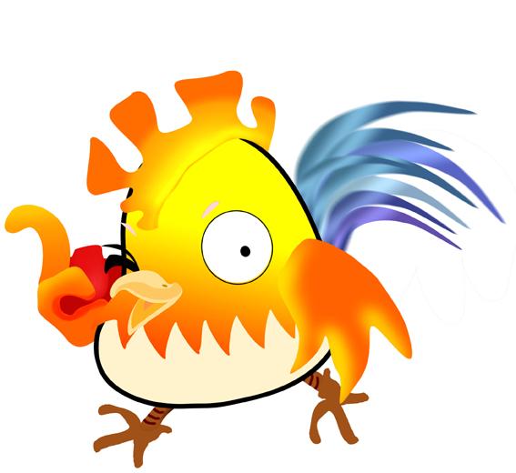 鸡年拽鸡(手绘)