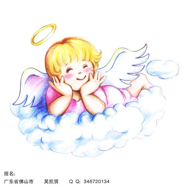 """""""小天使""""卡通设计"""