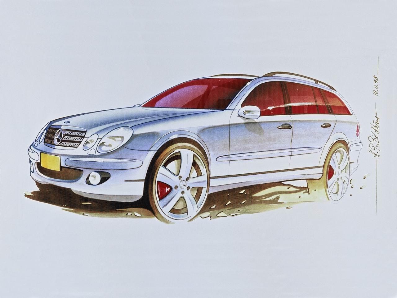 经典汽车原厂手绘图