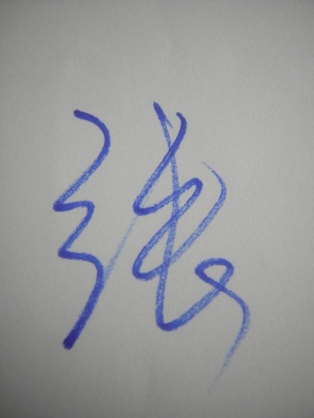 签名注重的是一笔贯通,既简洁,又流畅,寓意人生道路平坦,一帆风顺图片