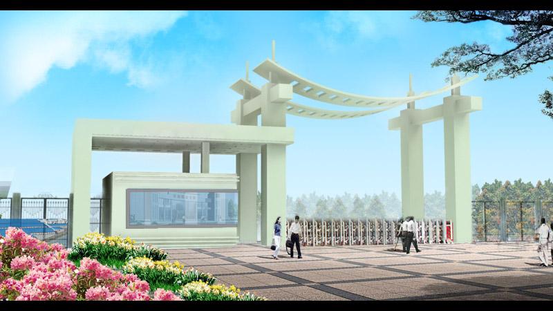 工业企业 厂区大门设计 300元 K68威客任务