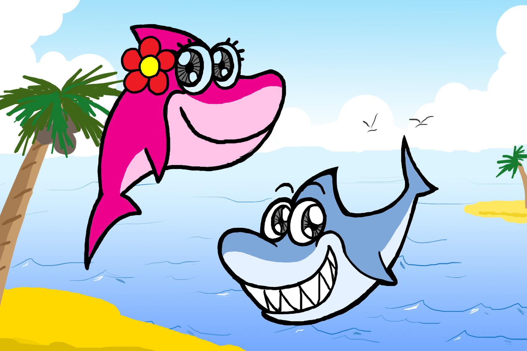 卡通海洋动物-201元-2092号任务-威客k68网