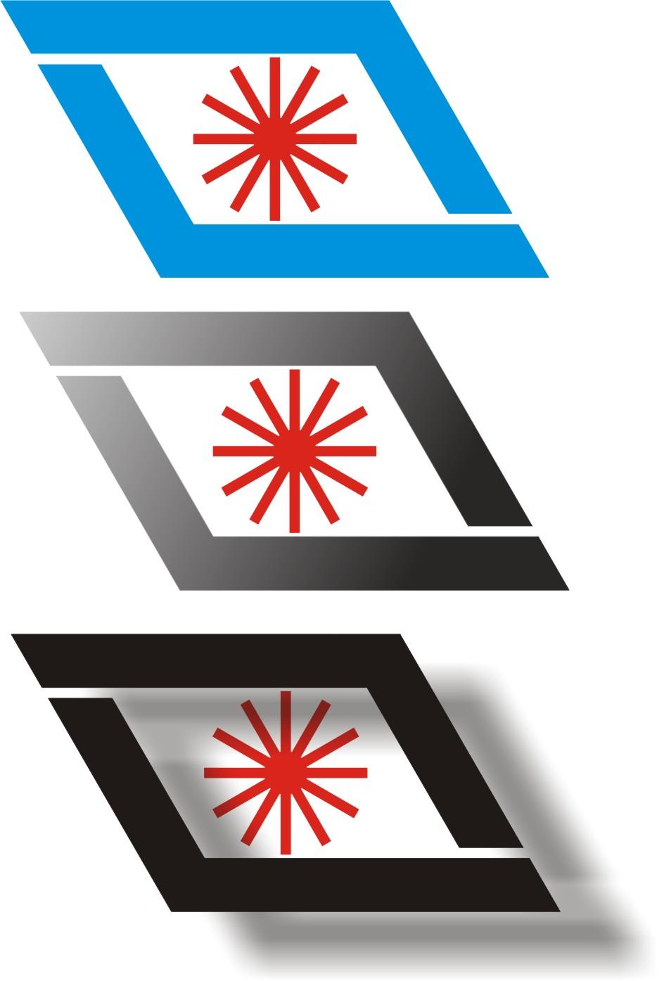 北京/方案1、以两个L组合成一个抽象的D,加上激光的通用标志组成...