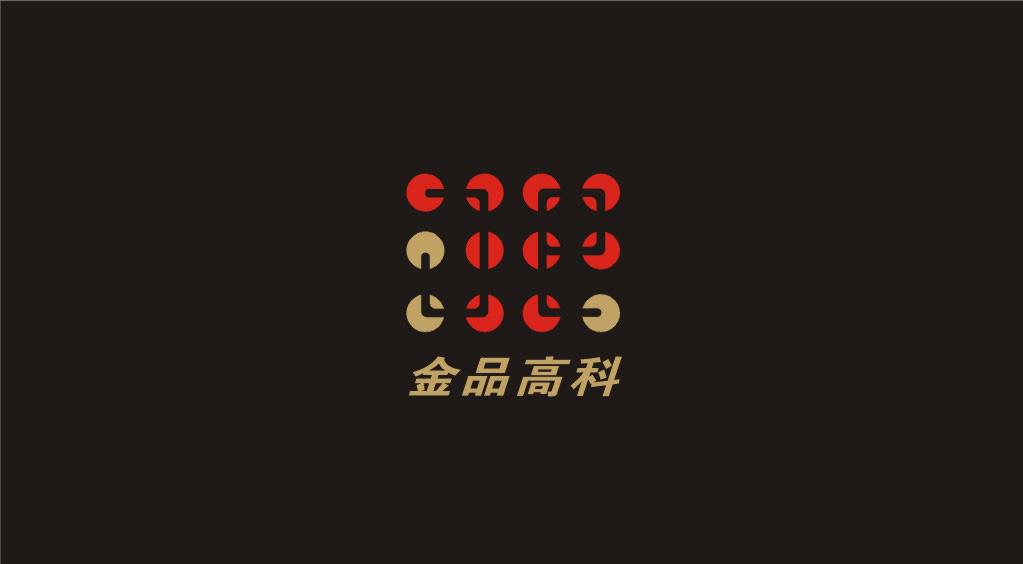 北京金品高端科技公司logo设计(中标:点状光源,yuanshanmei)