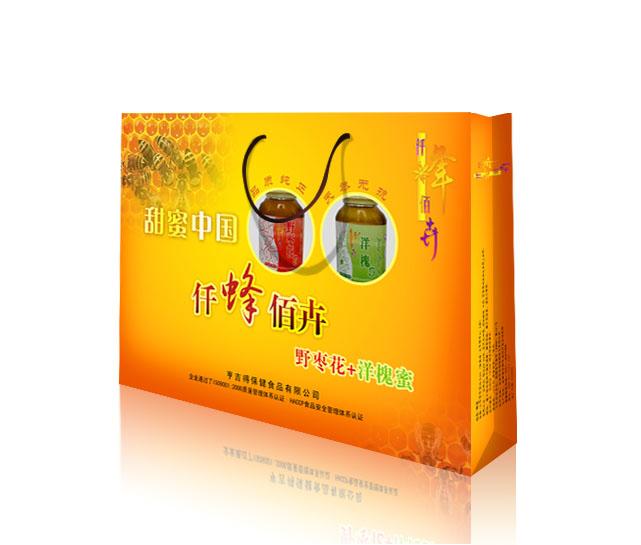 蜂蜜礼盒设计(中标:小俞设计/xiaozhaoai|奖金均分)
