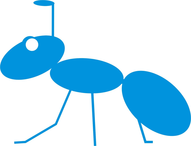 深圳蓝蚂蚁公司logo美化