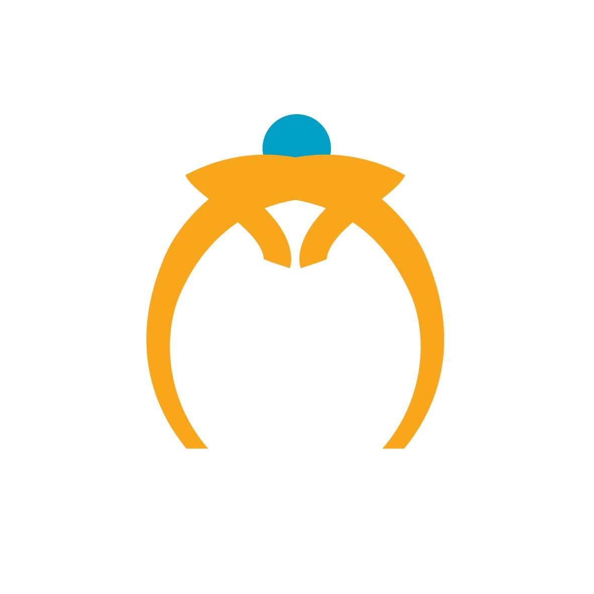 jj珠宝公司英文logo设计