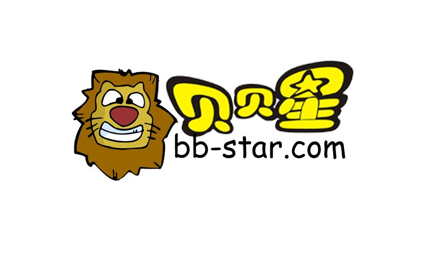 贝贝星婴童网站LOGO设计图片