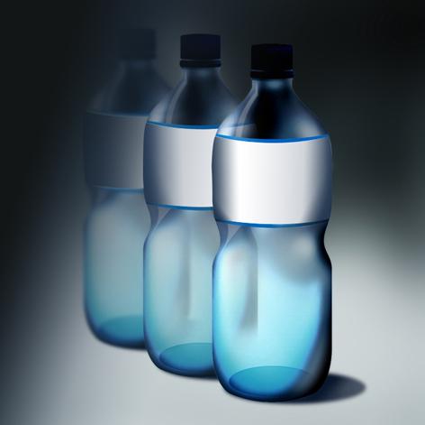 瓶子设计素描纹路