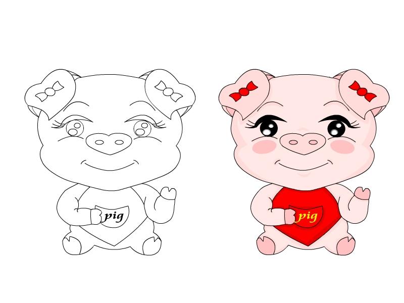 征集可爱小猪的卡通形象征集(请不要抄袭迪士尼猪、嘟嘟猪、QQ猪、) 要求: 1、必须是原创的卡通形象 2、要有线条版和彩色图案版 3、小猪的特质:可爱(头大身小) 4、全身和头部特写都可以。 5、后续用途:以后本公司还会独立在本网站征集运用本卡通形象的产品设计。 上海桑真广告有限公司 2006年5月16日 【客户联系方式】 见二楼 【重要说明】 。K68已经收到客户的汇款,确定此任务总金额的80%可以支付给被客户选中的会员.