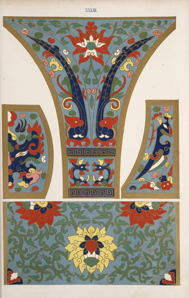 中国传统的装饰图案图片